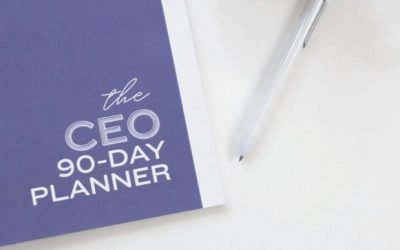 Announcing the CEO 90 Day Planner!